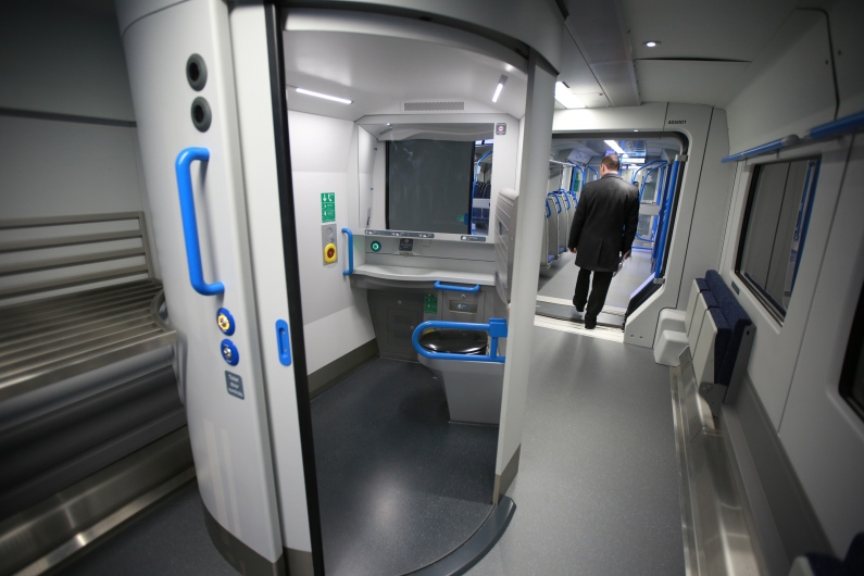 Preview Of The New Generation Of Thameslink Trains