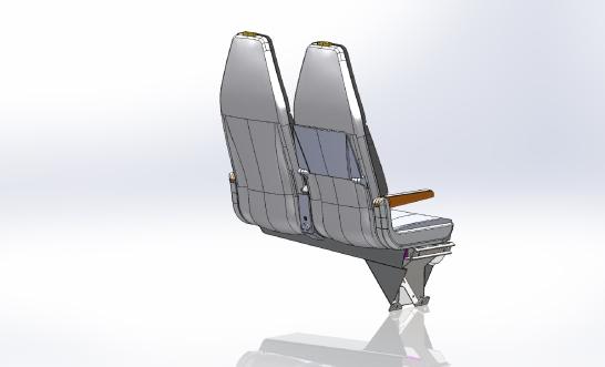 AAA-REGIONAL STANDARD DOUBLE TRANSVERSE SEAT 11 & 12